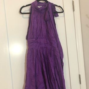 Milly of New York Purple Cocktail Dress